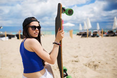 This is my longboard Royalty Free Stock Image