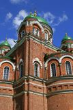 My Lord. The convent near the historical place where the battle between Napoleon and russian army had happend royalty free stock photo