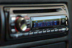 My love audio car Stock Photo