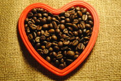 My love is coffee! Royalty Free Stock Photography