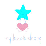 My love is strong Royalty Free Stock Photo