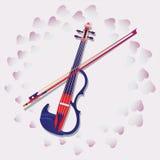 My love. Violin. royalty free illustration
