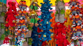 My Lucky Day. Photo of stuffed animals at an Ocean City Maryland carny booth Stock Photography