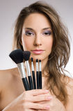 My makeup tools Royalty Free Stock Image