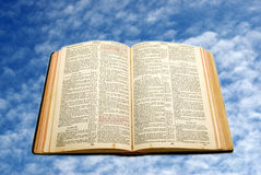 My mom old Bible Stock Photography