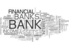 Is My Money Safe On The Soundness Of Our Banks Text Background Word Cloud Concept Royalty Free Stock Photo