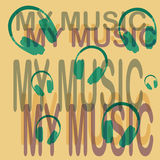 My music Stock Image