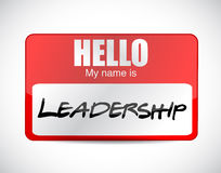 My name is leadership. illustration design Stock Photo