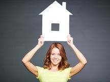 My new house Royalty Free Stock Photos