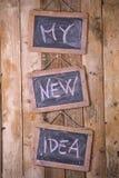 My new idea Stock Photography