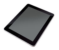 My New Ipad With Blank Stock Image
