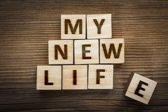 `My New Life` inscription Royalty Free Stock Photos