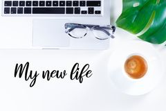 My new life royalty free stock photography