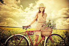 My old bicycle Stock Images