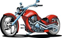 My original design motorbike Royalty Free Stock Photos