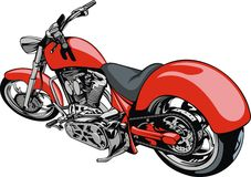 My original motrobike design Stock Image