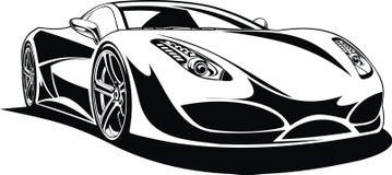 My original sport car design Stock Photos