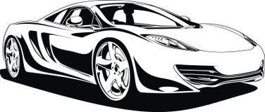 My original sport car design Royalty Free Stock Photography