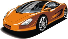 My original sport car design Royalty Free Stock Photography