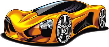 My original sport car design Royalty Free Stock Photos