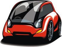 My original sport car design Royalty Free Stock Image