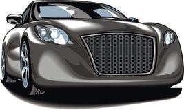 My original sport car (my design) in black color Stock Image