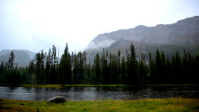 My peaceful place. This is a scene in YellowStone National Park Stock Photography
