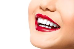 My perfect teeth Royalty Free Stock Image