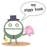 My piggy bank Royalty Free Stock Photo