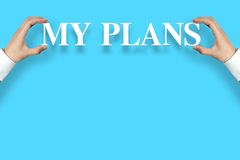 My Plans Stock Images