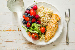 Free My Plate - Portion Control Guide Royalty Free Stock Photos - 72190948