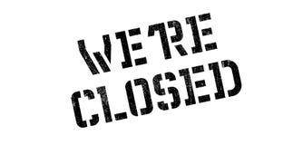My ponowna Zamknięta pieczątka Zdjęcie Stock