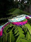 My product Bracelet. Hand made indo bracelet Royalty Free Stock Photography