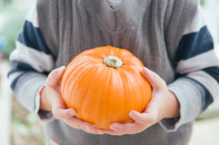 My pumpkin Royalty Free Stock Photos