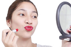 My Red Lipstick Royalty Free Stock Photo