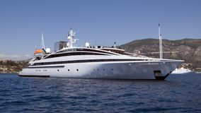 MY RM Elegant. Motor yacht RM Elegant a 72m Lamda shipyards build in 2005, charter yacht for 30 guests Stock Photo