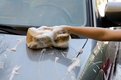 Myć samochód Obraz Royalty Free