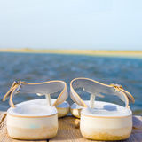 My sandals - focus is in the middle Royalty Free Stock Photo
