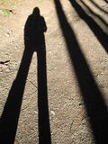 My shadow Stock Photography
