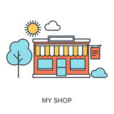 My Shop Royalty Free Stock Photography