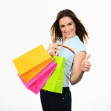 My shopping Royalty Free Stock Images