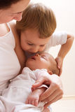 My sister is sleeping! Royalty Free Stock Images