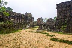 My Son Cham Ruins Stock Photos