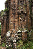 My Son detail - Vietnam. My Son is the major site in Vietnam from the ancient Champa Kingdom.UNESCO World Heritage site Stock Photography