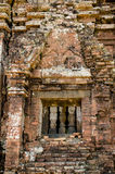 My son Heritage world. Historical Relic cultural heritage Unesco World My Son, Quang Nam, Vietnam stock images