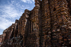 My son Heritage world. Historical Relic cultural heritage Unesco World My Son, Quang Nam, Vietnam Royalty Free Stock Images