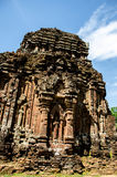 My son Heritage world. My Son Sanctuary is a famous landmark of Quang Nam Province, Vietnam. By UNESCO as world cultural heritage Stock Photos