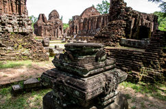 My son Heritage world. My Son Sanctuary is a famous landmark of Quang Nam Province, Vietnam. By UNESCO as world cultural heritage Royalty Free Stock Photo