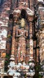 My Son - hinduism ruines in Vietnam Royalty Free Stock Photography