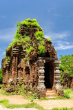 My Son, historic complex of Hindu temples on the South Central Coast in Vietnam Stock Photo